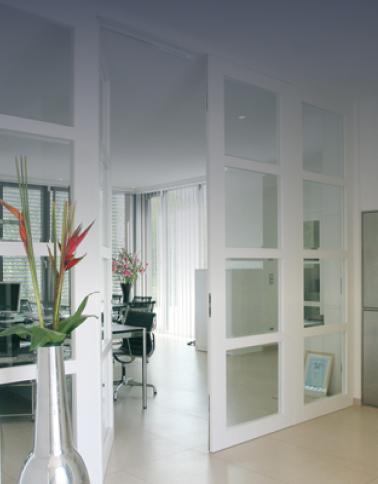 Двери для внутренних перегородок Оплот