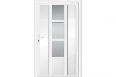 дверь из оконного профиля